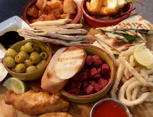 TASTY TAPAS OFFER : 3 DISHES FOR £13.50